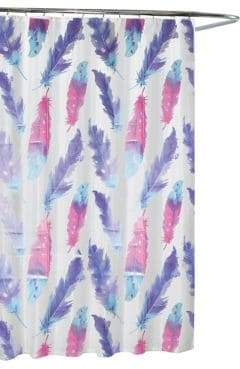 Moda Painted Plume Shower Curtain