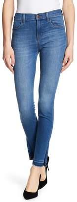 J Brand Maria High Rise Release Hem Jeans