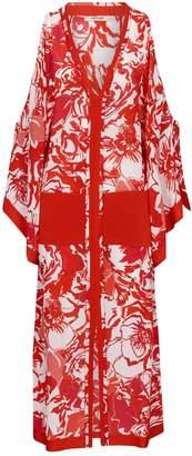 Roberto Cavalli Floral Kaftan Dress