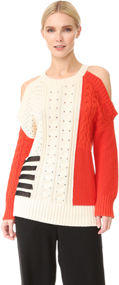 Fuzzi Crew Neck Sweater $495 thestylecure.com