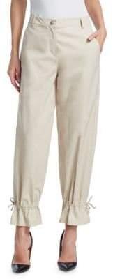 Emporio Armani Fluid Drawstring Pants