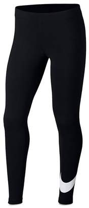Nike Girls' Swoosh Leggings - Big Kid