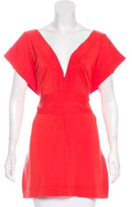 Diane von Furstenberg Tasha Short Sleeve Top