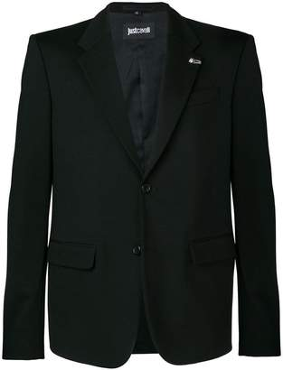 Just Cavalli straight-fit blazer