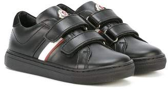 Moncler double strap sneakers