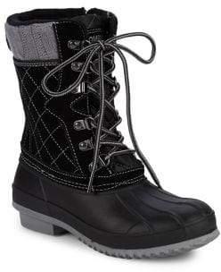 Khombu Davenport Lace-Up Storm Boots