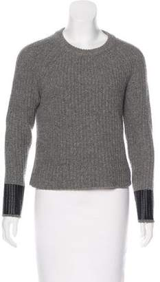 Rag & Bone Long Sleeve Crew Neck Sweater