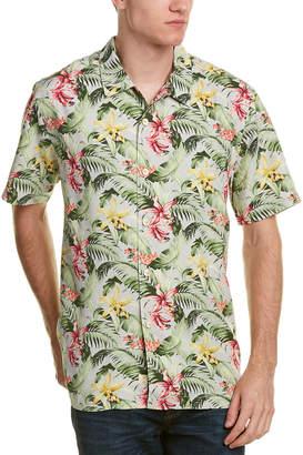 Tommy Bahama Menara Garden Silk Woven Shirt