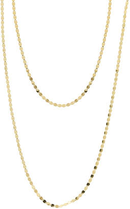 Lana Bond Nude 14K Two-Strand Necklace