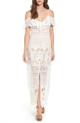 WAYF Lace Maxi Dress