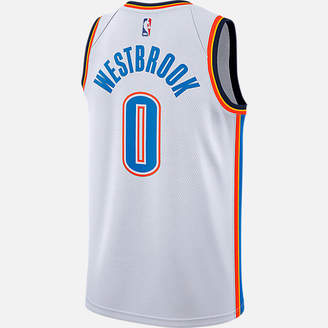 Nike Men's Oklahoma City Thunder NBA Russell Westbrook Association Connected Jersey