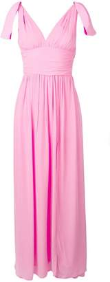 Pinko bow-detail gown