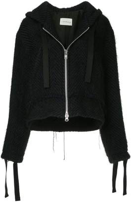 Song For The Mute oversized knitted jacket