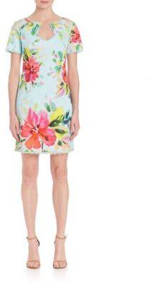 Trina Turk Rashida Floral Print Dress $328 thestylecure.com
