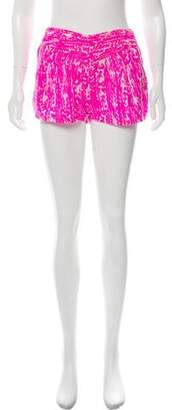 Mikoh Silk Mini Shorts