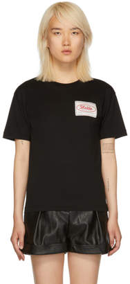 Stella McCartney Black Stella Tag T-Shirt