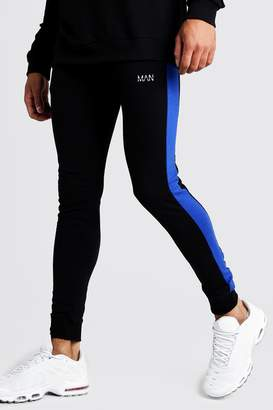 MAN Super Skinny Fit Jogger With Side Panels