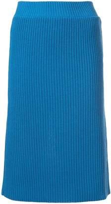 Calvin Klein (カルバン クライン) - Calvin Klein 205W39nyc リブニット スカート
