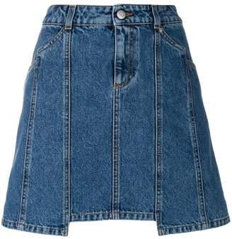 Alexander McQueen Denim Mini skirt