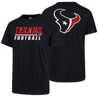 '47 Men's Houston Texans Fade Back Super Rival T-Shirt