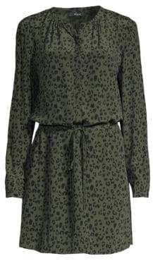 Rails Hana Cheetah-Print A-Line Tunic Dress