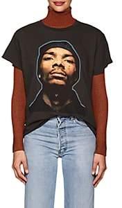 Madeworn Women's Celebrity-Graphic Cotton Jersey T-Shirt - Black