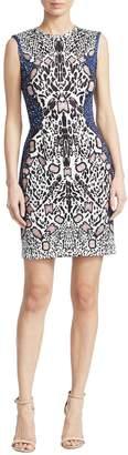 Yigal Azrouel Women's Abstract Cheetah Dress