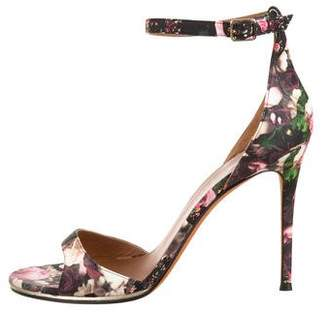 Givenchy Floral Ankle Strap Sandals w/ Tags