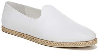Vince Malia Leather Flat Espadrille Loafers