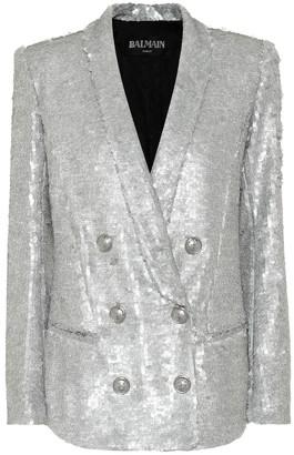 Balmain Sequin blazer