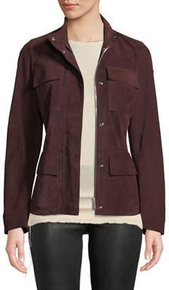 Belstaff Almington 4-Pocket Suede Jacket