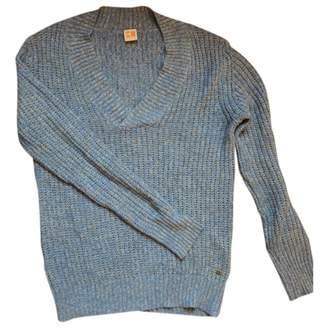 BOSS ORANGE Blue Cotton Knitwear for Women