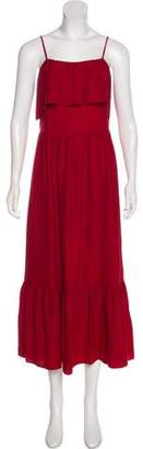 Robert Rodriguez Silk Maxi Dress