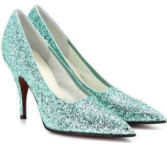 Victoria Beckham Dorothy glitter pumps