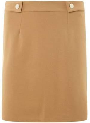 Dorothy Perkins Womens Stone Popper Mini Skirt