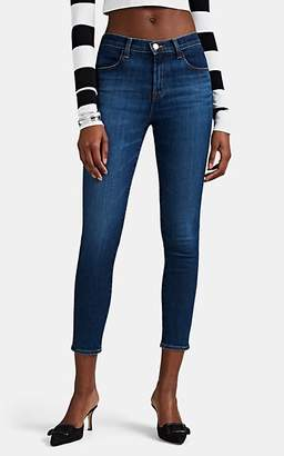J Brand Women's Alana High-Rise Crop Skinny Jeans - Blue