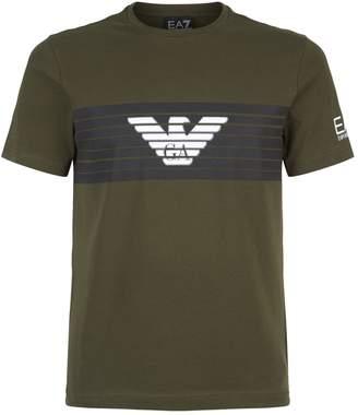 Giorgio Armani Ea7 Eagle Logo T-Shirt