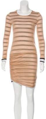 A.L.C. Long Sleeve Reversible Dress
