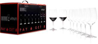 Riedel Vinum Bordeaux Wine Glasses 8 Piece Value Set