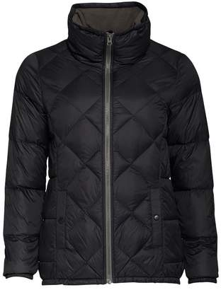 Converse Womens Lightweight Quilted Down Jacket Jet Black