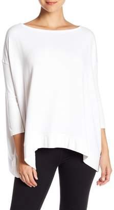 Donna Karan Dolman Sleeve Pullover Sweatshirt