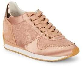 Ash Blush Lace Stud Sneakers
