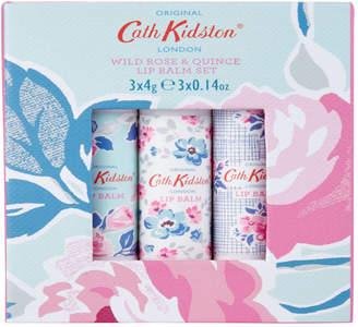 Cath Kidston Paper Rose 3 x 4g Lip Balm Set