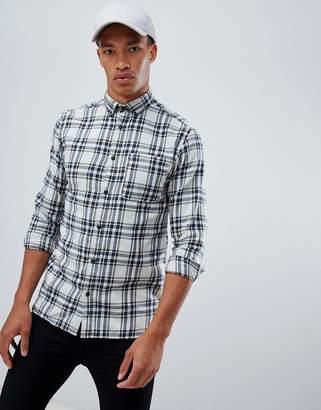 Jack and Jones Originals check shirt in slim fit