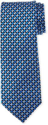 Neiman Marcus High Float Silk Tie