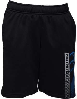 Canterbury of New Zealand Boys CCC Logo Fleece Shorts Jet Black