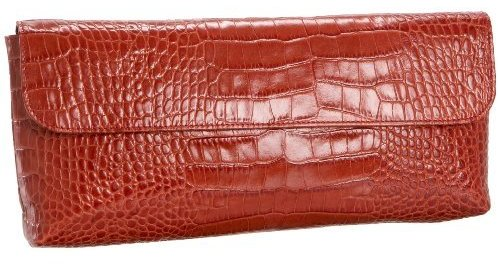 Jesselli Couture Croc-Embossed Clutch