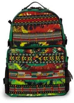 Valentino Tie-Dye Cotton Backpack