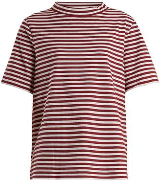 MiH Jeans Penny striped cotton-jersey T-shirt
