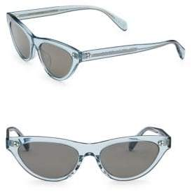Oliver Peoples 53MM Zasia Cat Eye Sunglasses